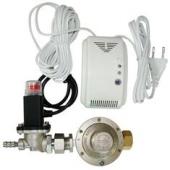 Montaj electrovana gaz actionata de detectoare de gaz Bucuresti